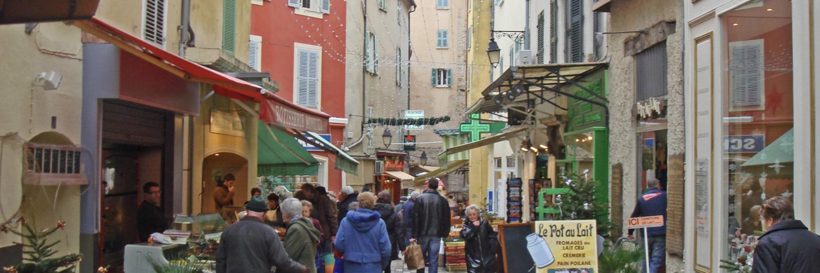 Rue Massilon à Hyères