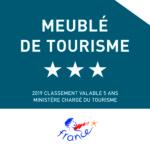 Meublé de tourisme 3*